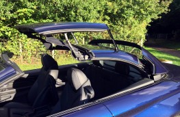 BMW M4 Convertible, roof retraction