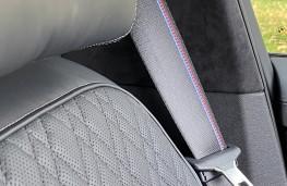 BMW M550i, 2020, seat belt