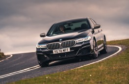 BMW M550i, 2020, front, action