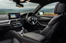 BMW M550i, 2020, interior