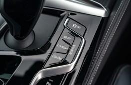 BMW M550i, 2020, drive mode controls