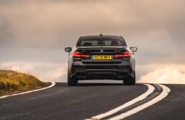 BMW M550i, 2020, rear