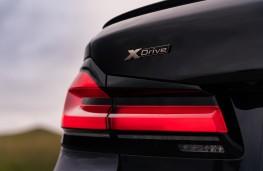 BMW M550i, 2020, rear light