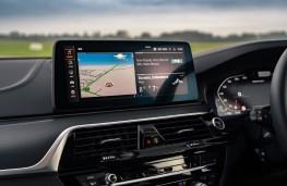BMW M550i, 2020, display screen