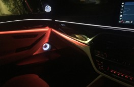 BMW M5, 2018, ambient lighting