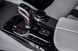 BMW M5, 2017, centre console