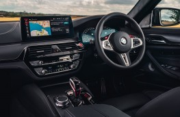 BMW M5 Competition, 2020, dashboard