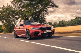 BMW M5 Competition, 2020, front, action