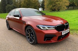 BMW M5 Competition, 2020, front