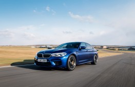 BMW M5, 2018, front