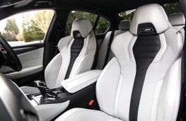 BMW M5, 2018, front seats