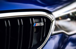 BMW M5, 2018, grille