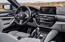 BMW M5, 2017, interior