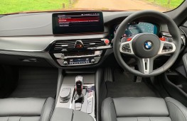 BMW M5 Competition, 2020, interior
