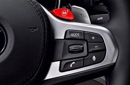 BMW M5, 2017, M button