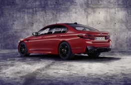 BMW M5 Competition, 2020, rear