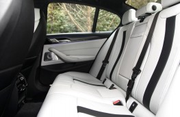 BMW M5, 2018, rear seats