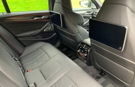 BMW M5 Competition, 2020, rear seats