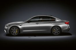 BMW M5 Competition, 2018, side