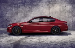 BMW M5 Competition, 2020, side