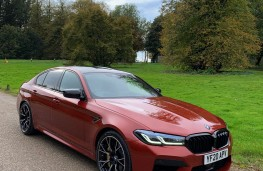 BMW M5 Competition, 2020, front, upright