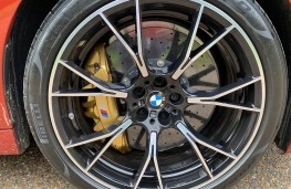 BMW M5 Competition, 2020, wheel
