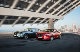 Mazda6 Tourer and saloon, G-Vectoring Control, 2017