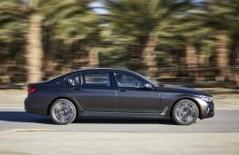BMW M760Li xDrive, 2017, side