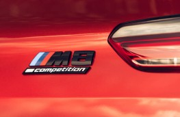 BMW M8 Competition Convertible, 2020, badge
