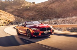 BMW M8 Competition Convertible, 2020, front