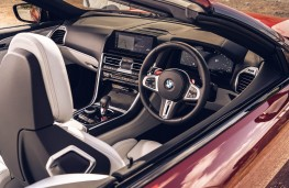 BMW M8 Competition Convertible, 2020, interior