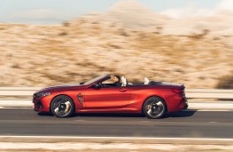 BMW M8 Competition Convertible, 2020, side
