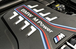 BMW M8 Competition, 2020, engine