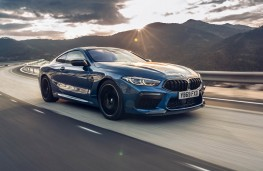 BMW M8 Competition Coupe, 2020, front, action