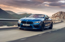 BMW M8 Competition Coupe, 2020, front