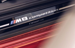 BMW M8 Competition Convertible, 2020, sill