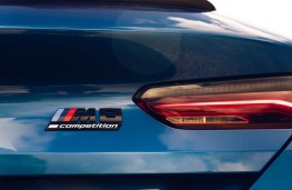 BMW M8 Competition Coupe, 2020, tail light