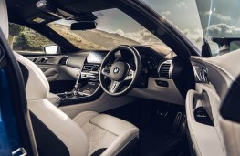 BMW M8 Competition Coupe, 2020, interior