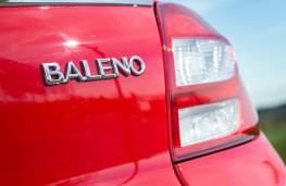 Suzuki Baleno, badge