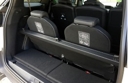 Peugeot 5008, 2017, boot, luggage blind stowed