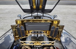 McLaren F1, engine bay