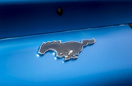Ford Mustang Mach-E, 2020, front, badge