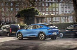 Ford Mustang Mach-E, 2020, rear, action