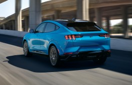 Ford Mustang Mach-E GT, 2020, rear