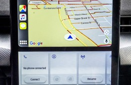 Ford Mustang Mach-E, 2020, display screen, map