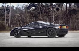 McLaren F1, side, static