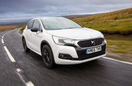 DS 4, front, action