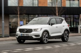 Volvo XC40, 2018, side, action