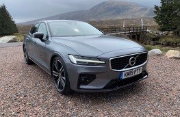 Volvo S60, front, static