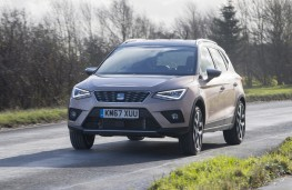 SEAT Arona, front, action